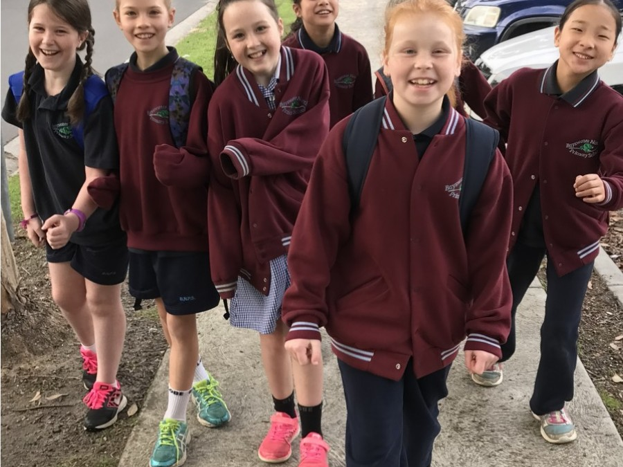 National Walk Safely to School Today