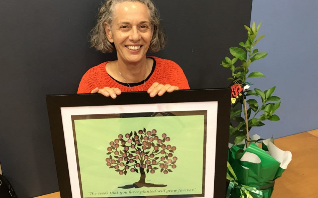 Reading Recovery Teacher Extraordinaire Retires