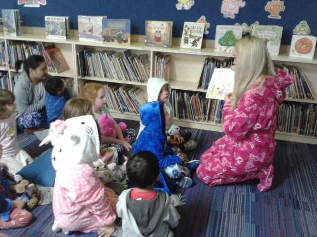 Story Time a Great Success