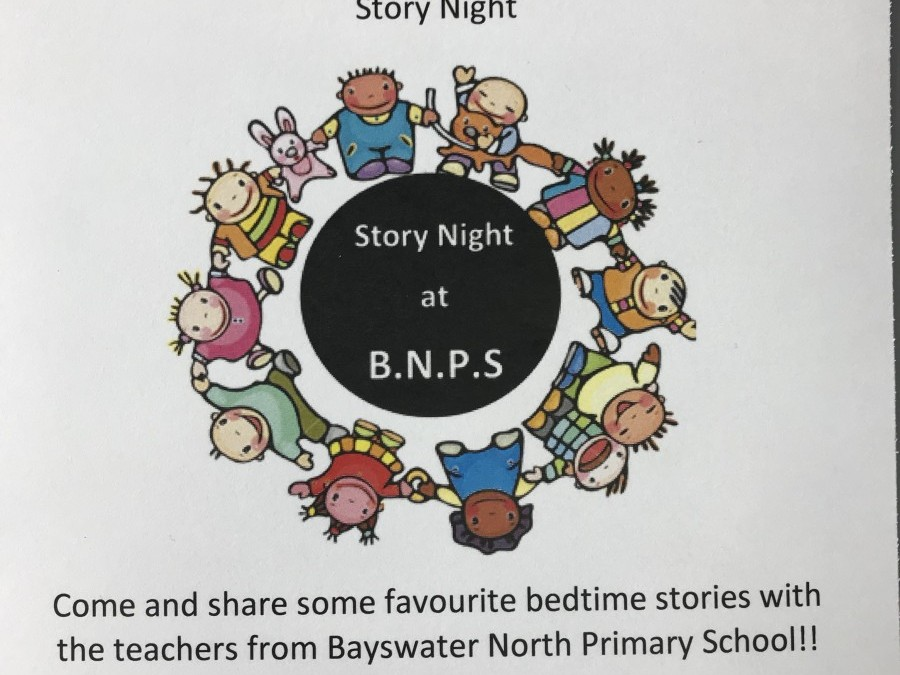 Wear you PJ's and slippers for Story Time