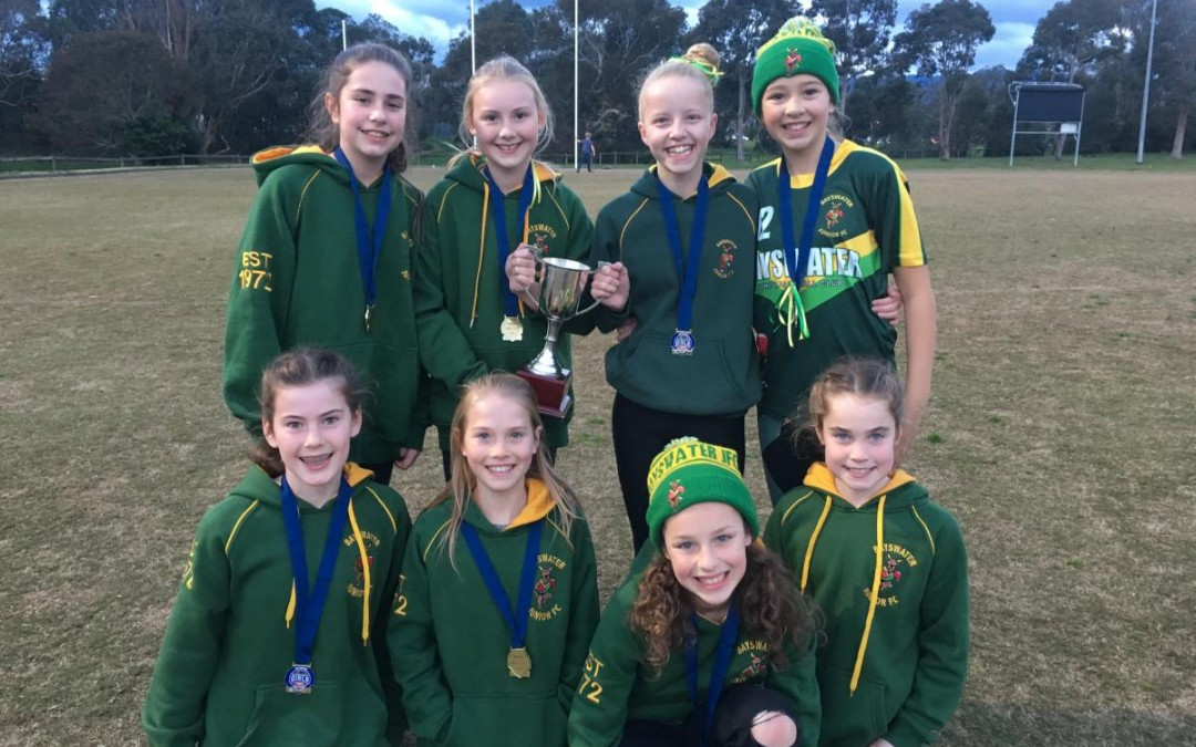 Woo hoo to our footy girls!