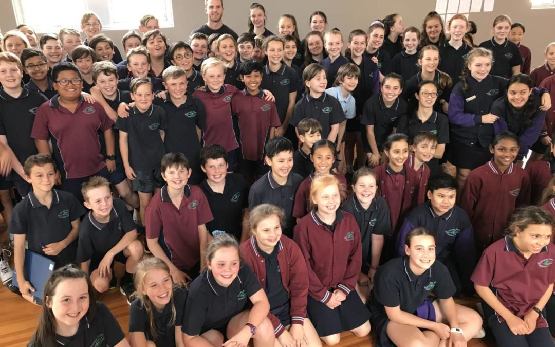 Brownlow Medalist Tom Mitchell visits BNPS