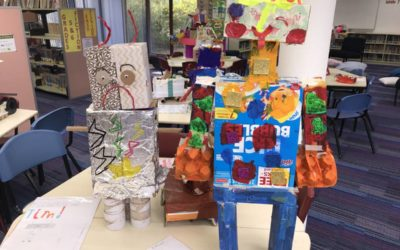 Robot Invasion in the Library!