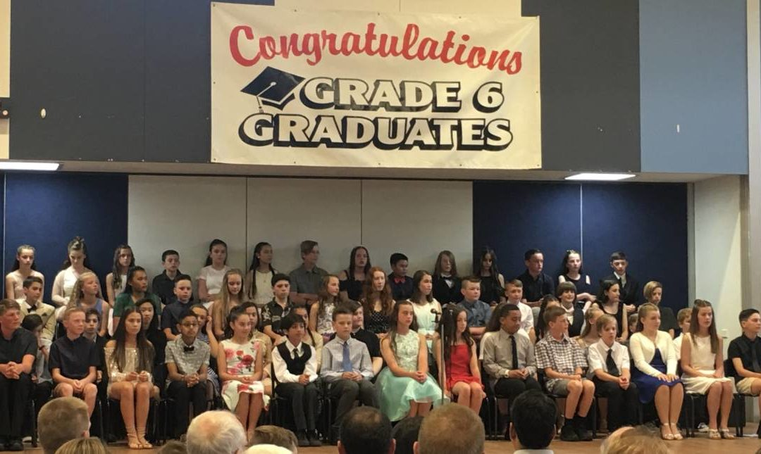 Congratulations to our grade 6 graduates 2018